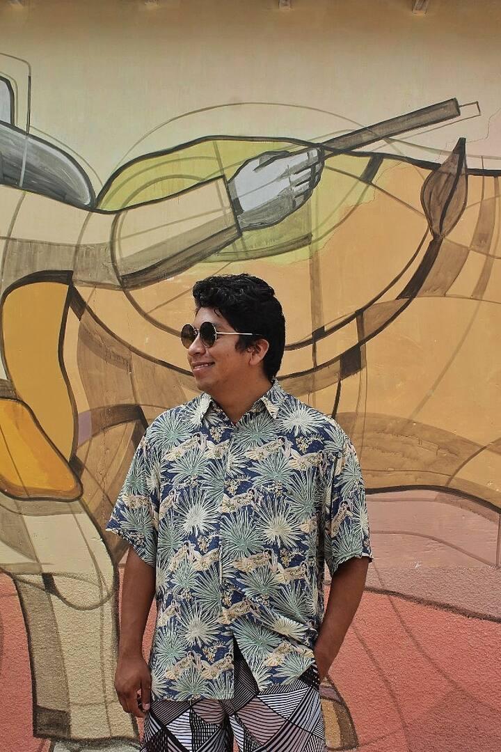 Disfruta de los murales de Copoya