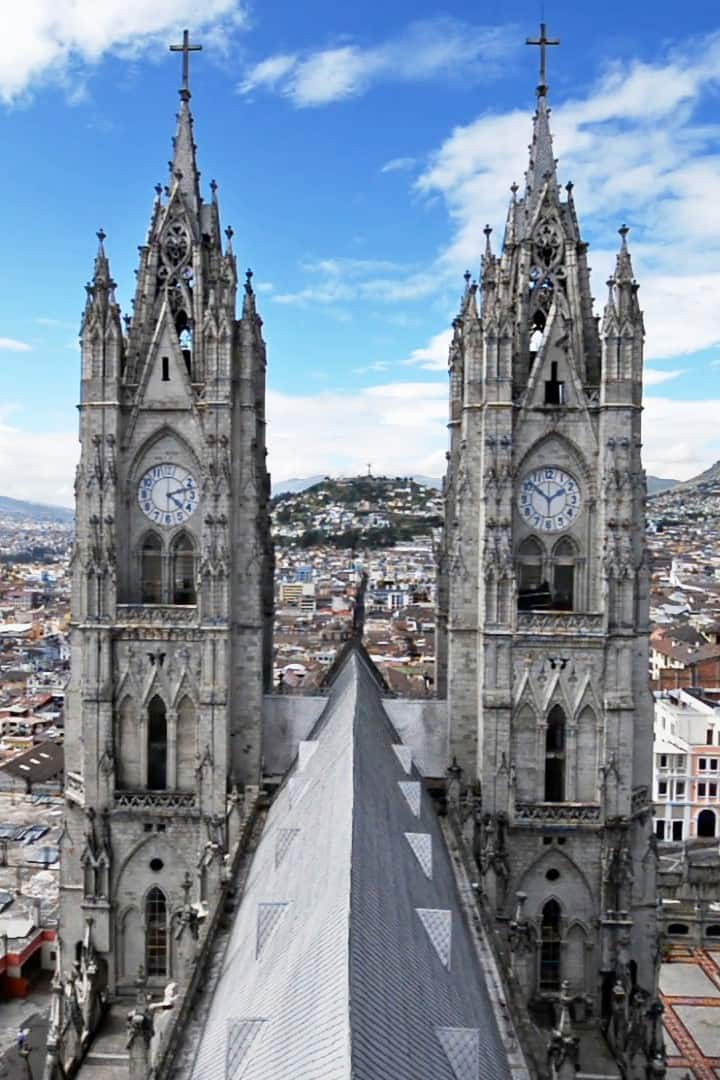 Basilica de Quito ( view from the back)