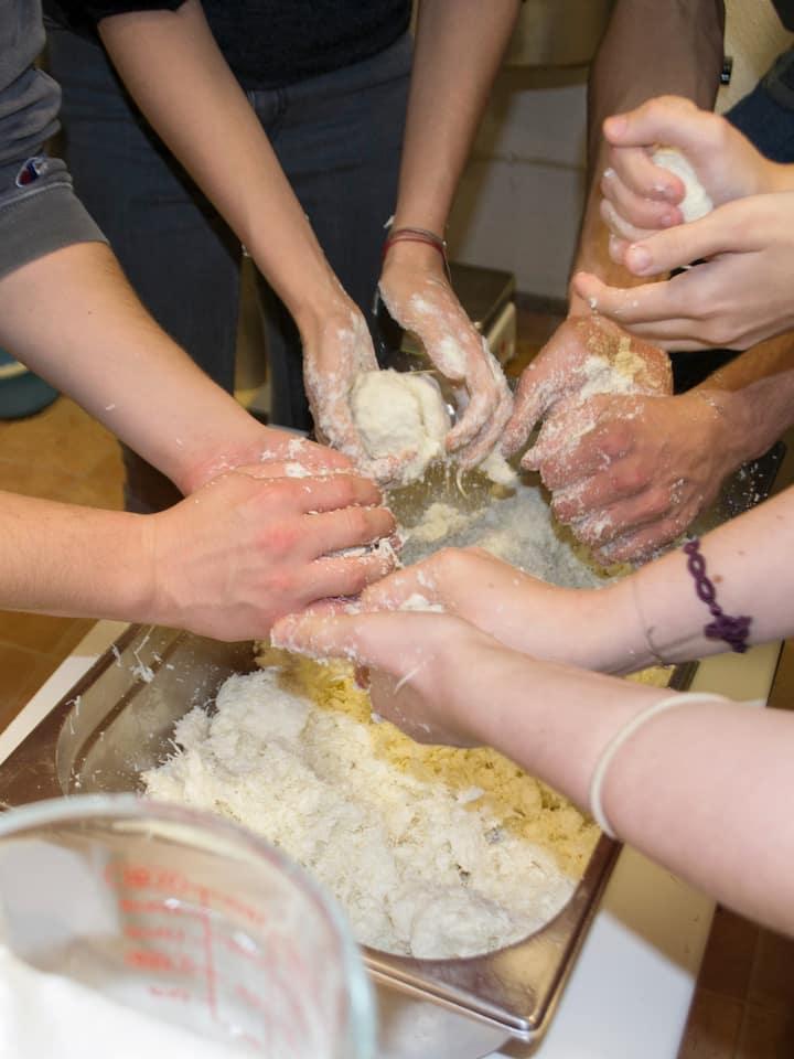 Make soap play-dough