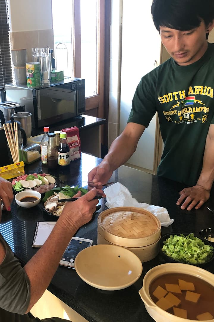 Learning about gyoza & dipping sauces