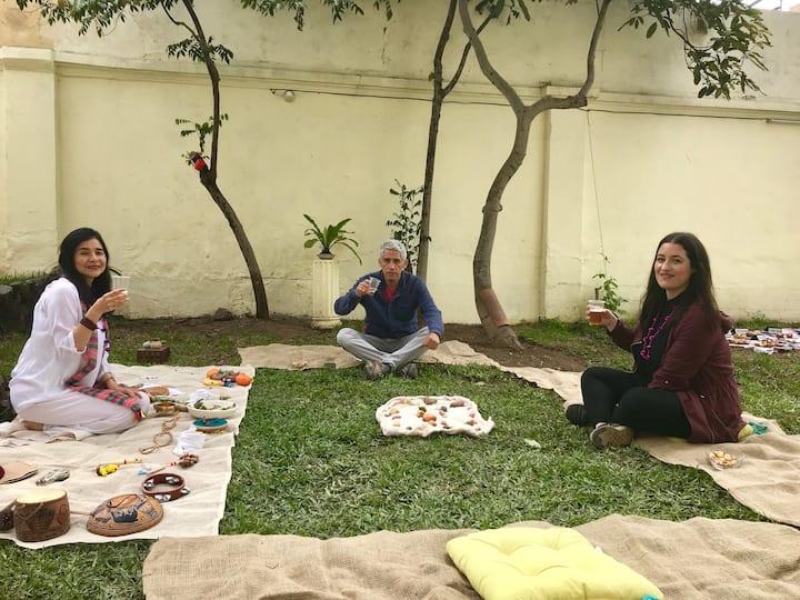 Perform ancestral rites