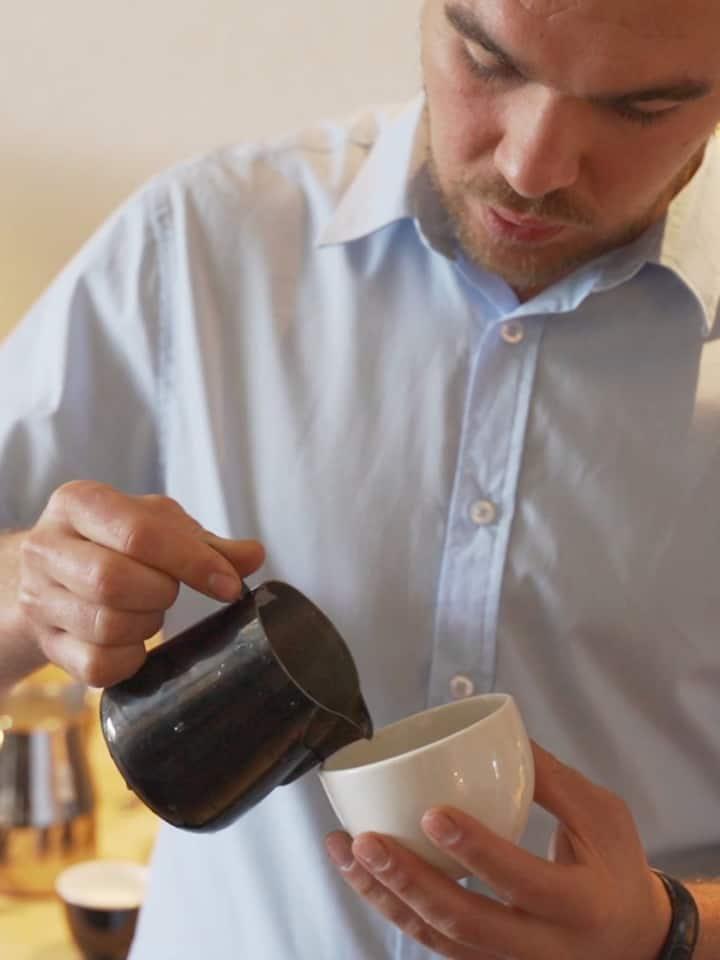 Pratique du latte art