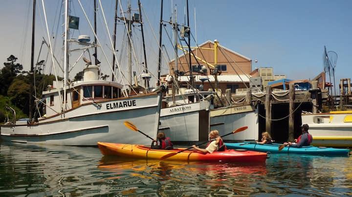 Cruising in Noyo Harbor