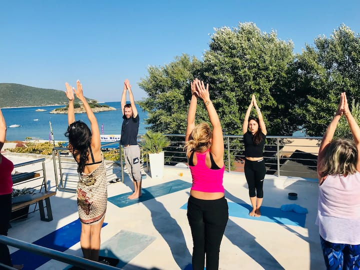 Hatha Yoga on the Terrace