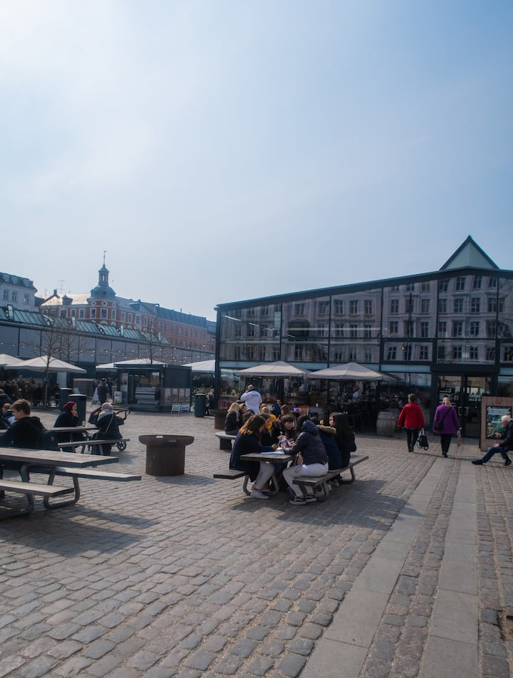 Dining outside in Copenhagen