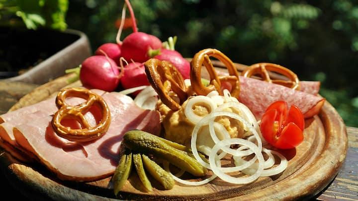 Bavarian snack
