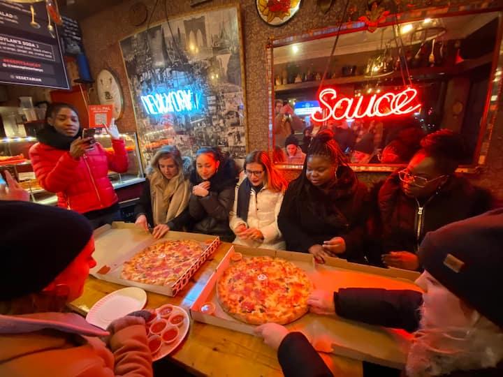 Sauce pizzeria LES