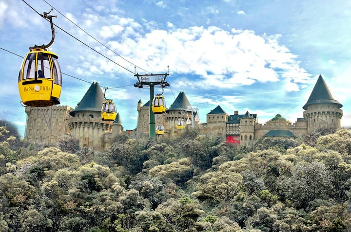 cable car to Bana hills