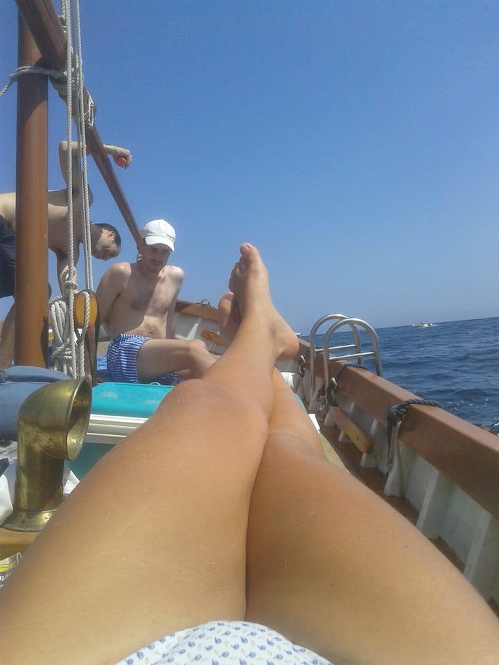 Fondeados en la Bahía de S'Agaró