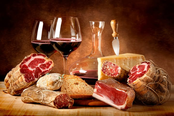 Wine is not the same without Salumi