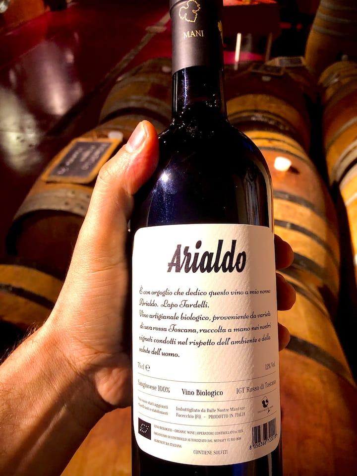 Taste organic wine, biodynamic method