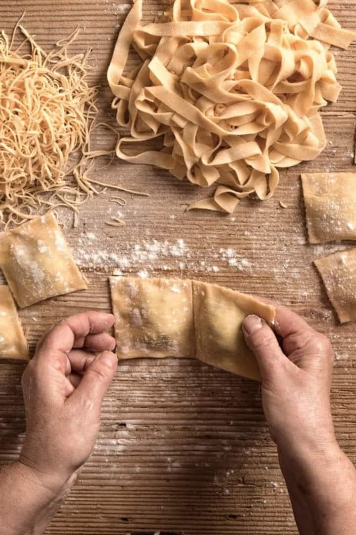 Learn the secrets to make fresh pasta