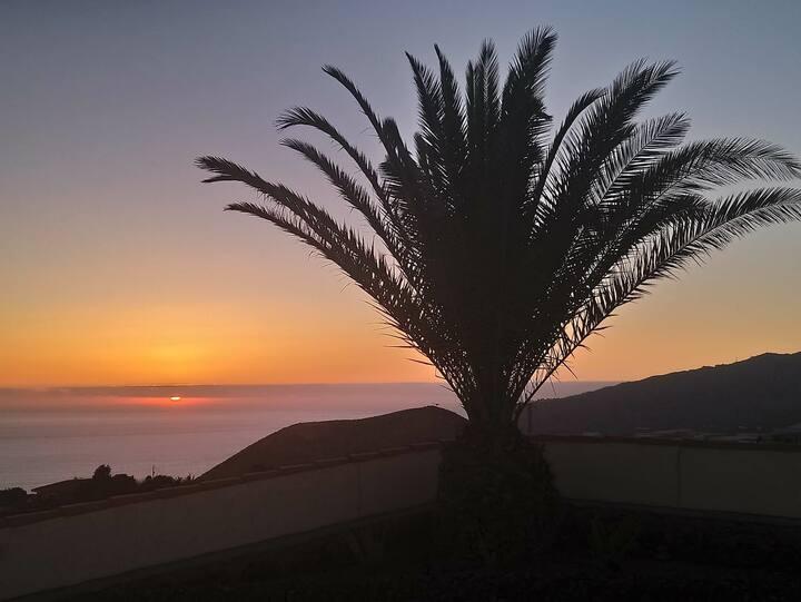 Sonnenuntergangs-Einheit