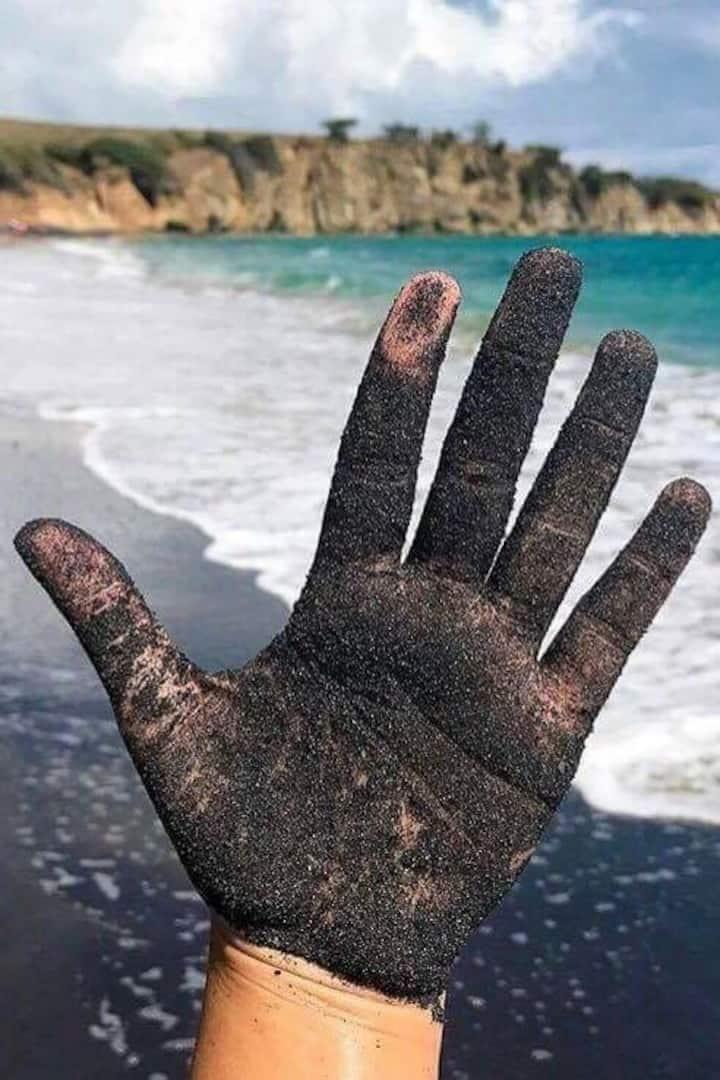 Explore Black Sand Beach