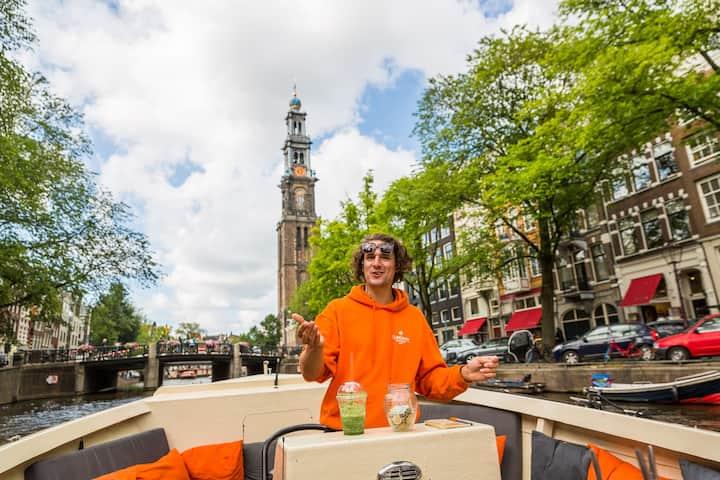 Our amazing skipper: Lodewijk