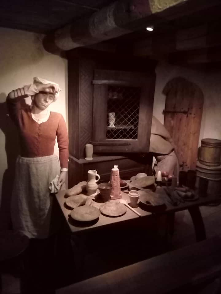 Look at everyday medieval life...