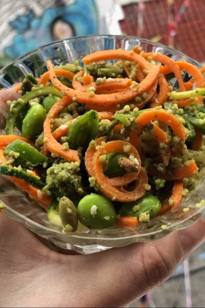 Yummy Vegan styled High Vibration Meal