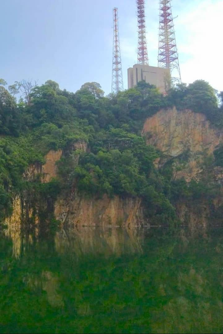 Quarry with view