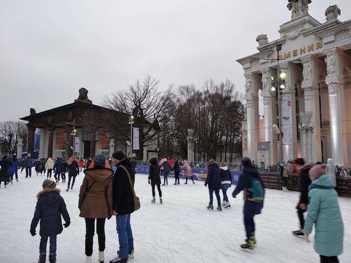Каток ВДНХ сезона 2019-2020