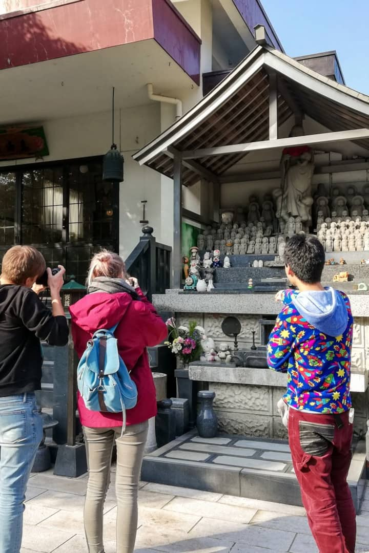 Temple with onsen!