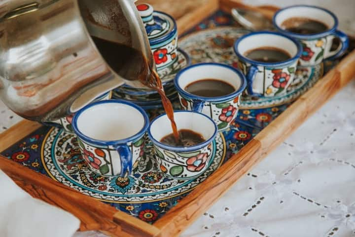 Arabic Coffee is a Hug in a Small Cup