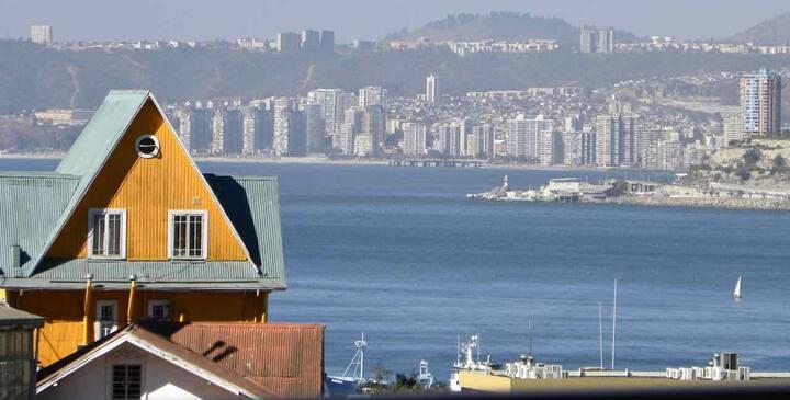 Vista a la Bahía desde sus miradores