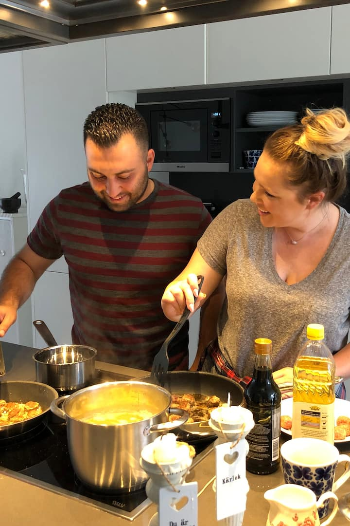 Couples Cooking in my Kitchen