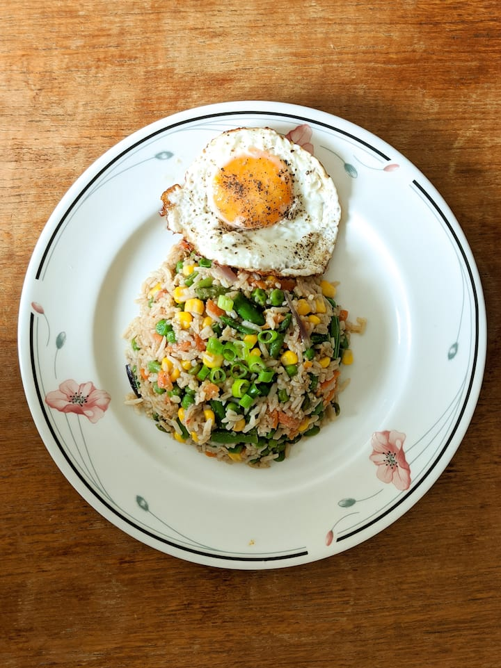 Sri Lankan Street Style Fried Rice