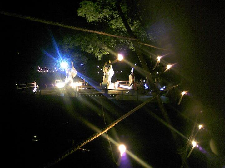 Kagura, a dance for god