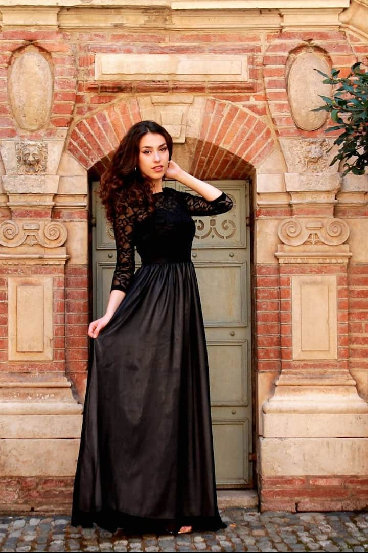 Shooting photo in the city of Toulouse