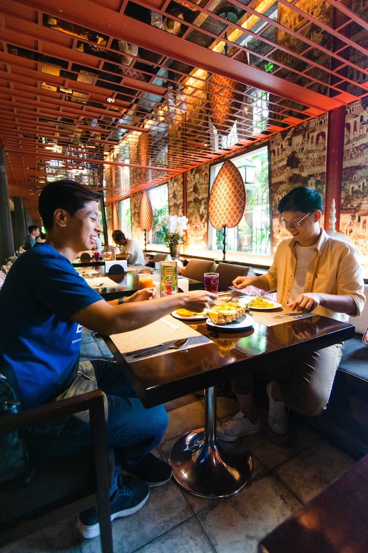 Have lunch at Jim Thompson Restaurant