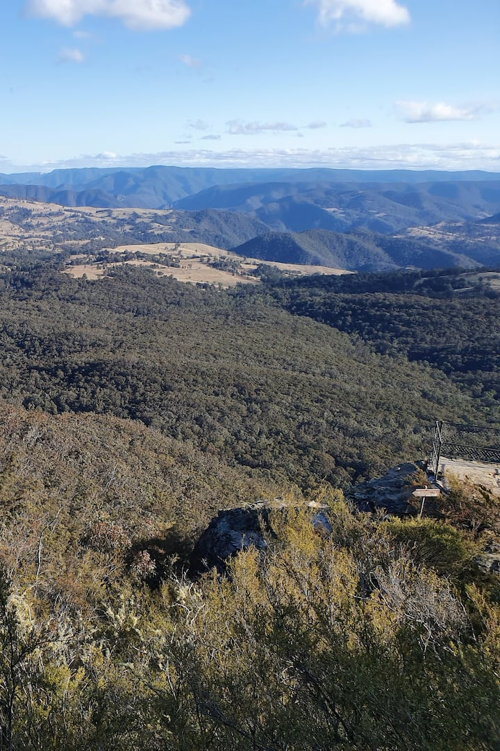 Beautiful Megalong Valley