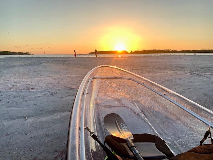 Sandbars & Sunsets = Paradise