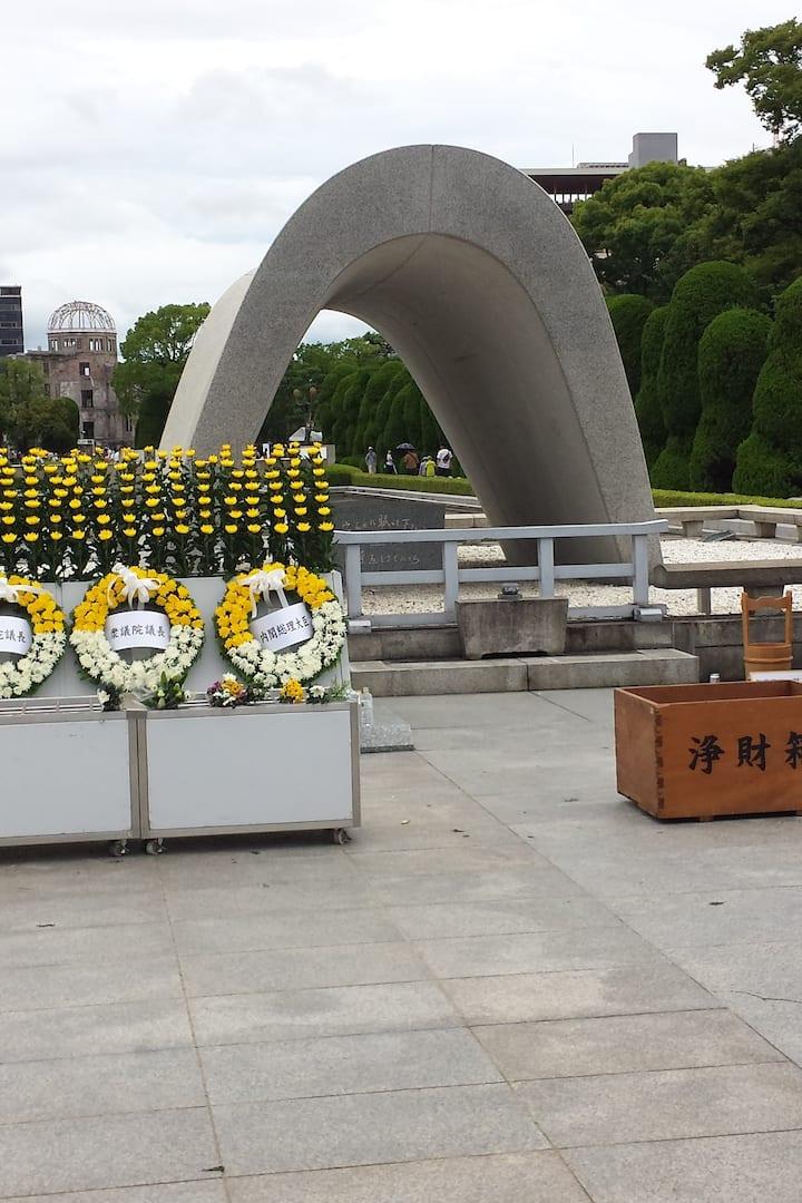 Memorial Monument 2019 Aug. 6th