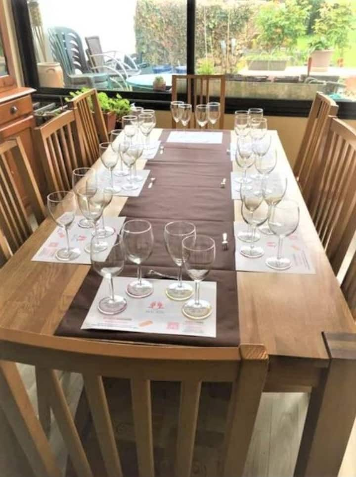 La table n'attend plus que vous