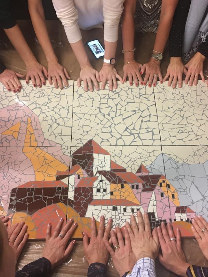 In teamwork created the castle of Vaduz
