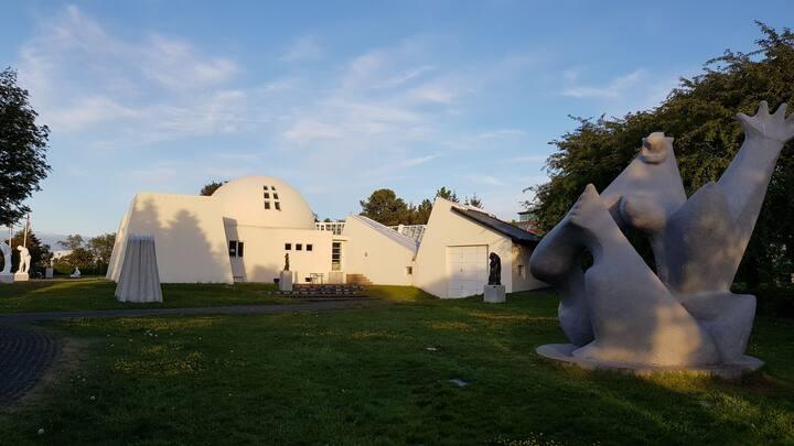 Ásmundarsafn, sculpture museum
