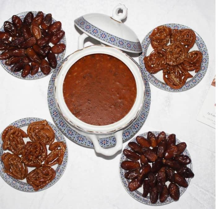 Entree ( Moroccan harira)