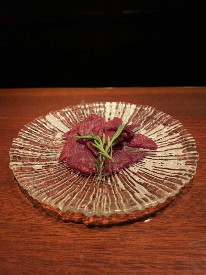 Who knows how tasty Japanese WAGYU jerky