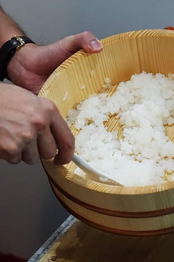 You will be making sushi rice!