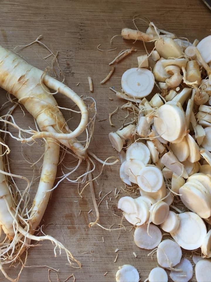 Ginseng root; an Appalachian treasure