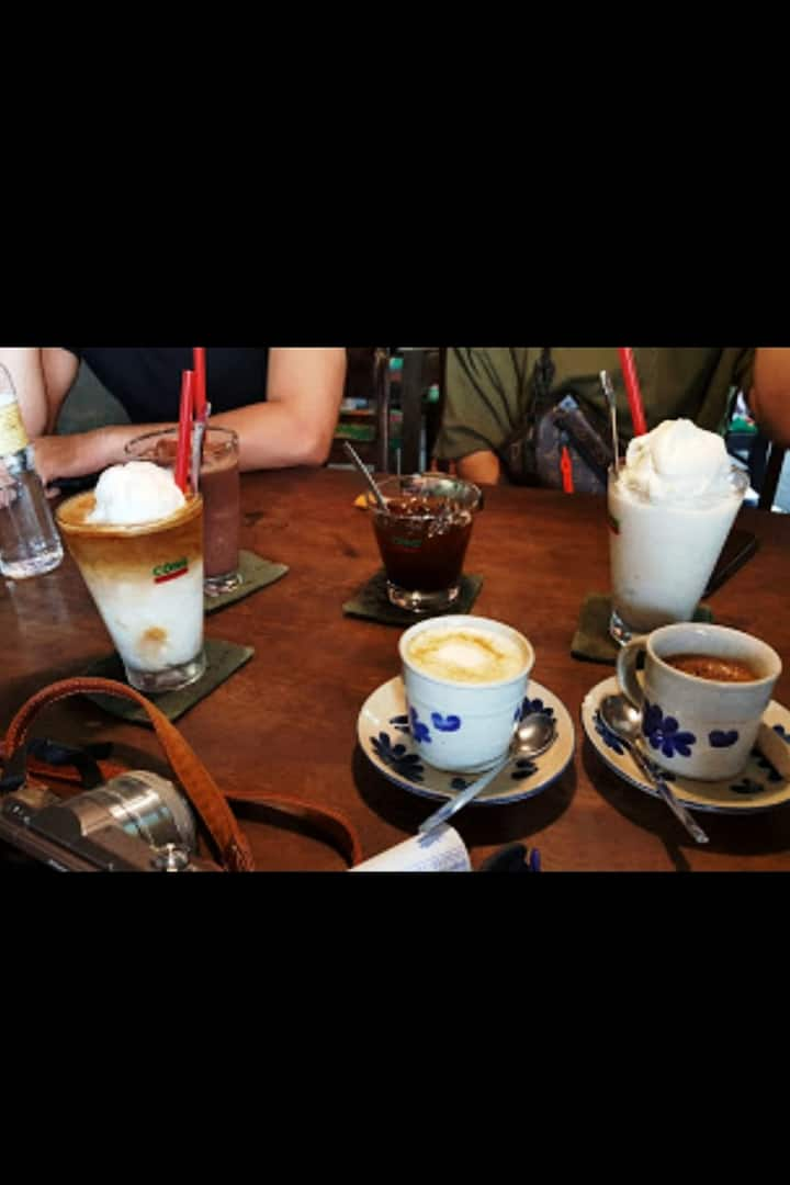 Vietnamese coffee talk