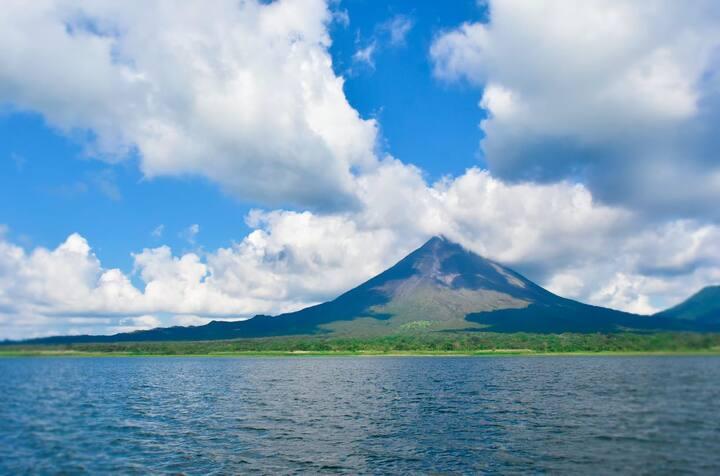 vista del volcan Arenal