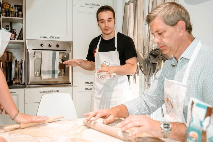 Learning to make fresh Pasta