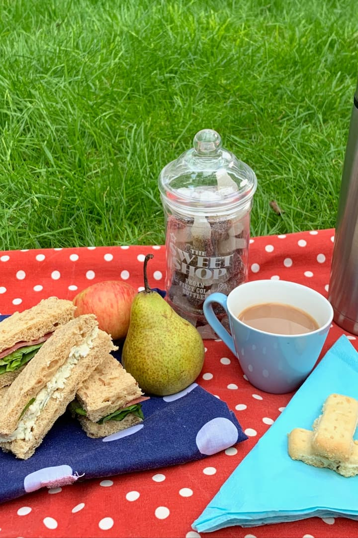 There's always time for a picnic!