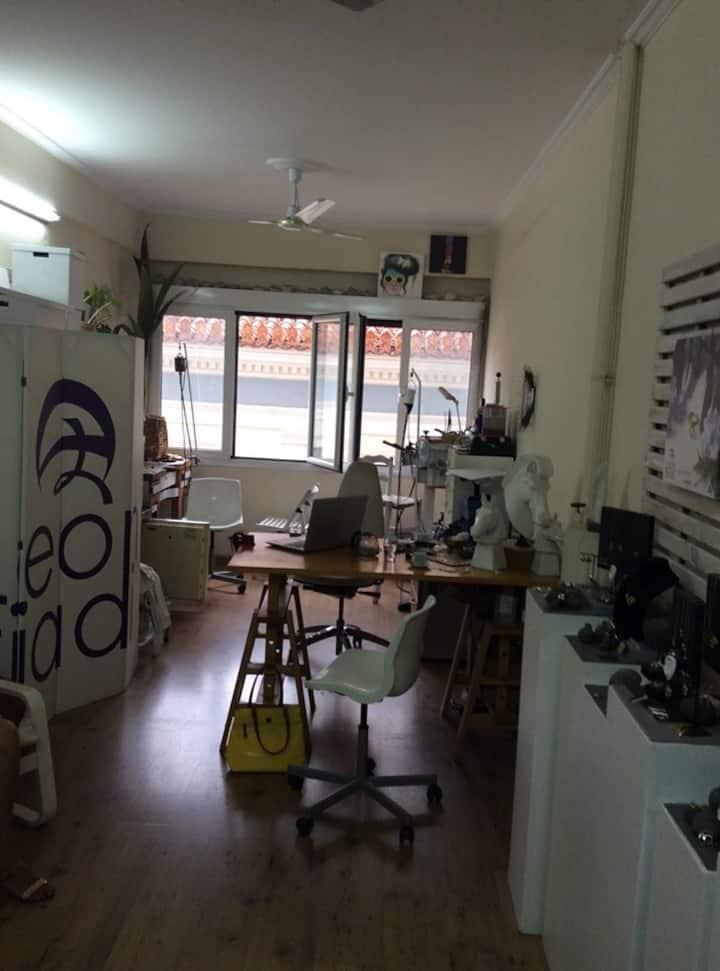 workshops set up