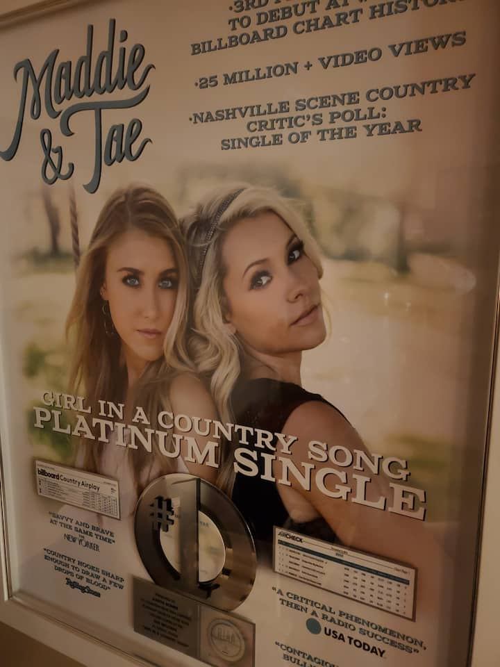 """Platinum! """"Girl In A Country Song"""""""