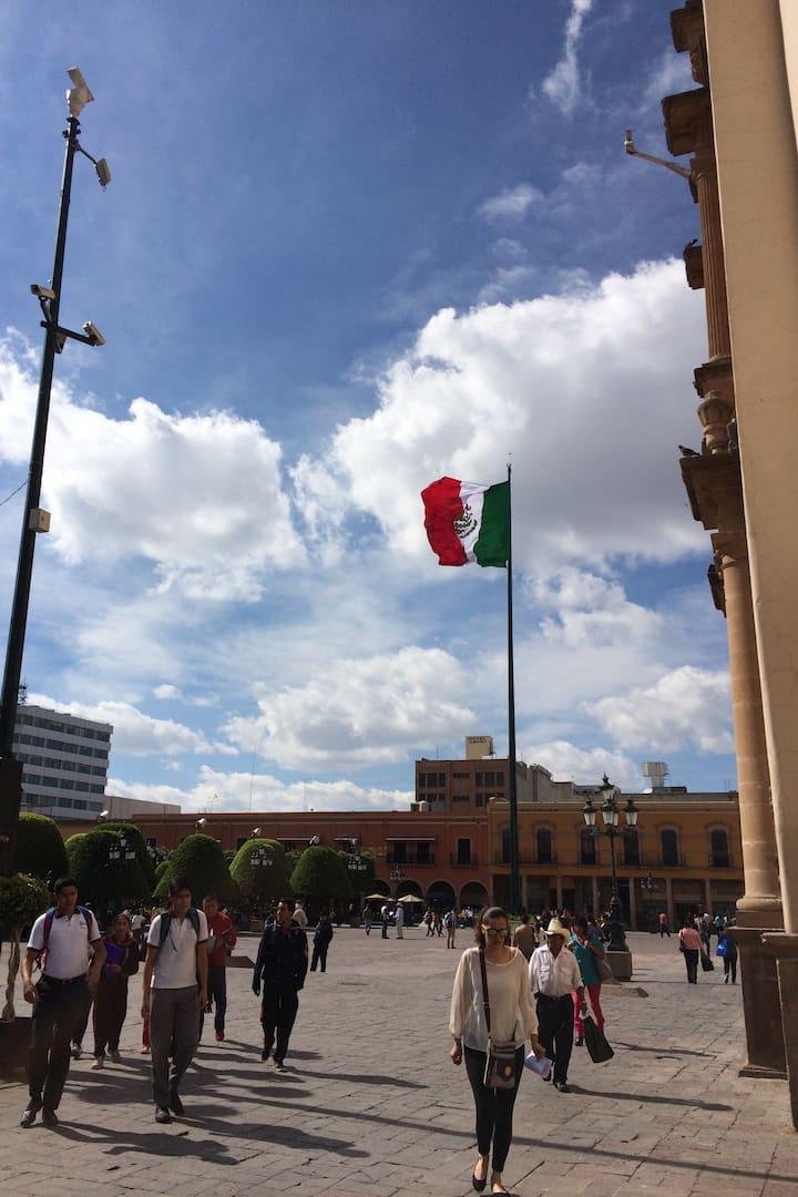 Centro Histórico de León.