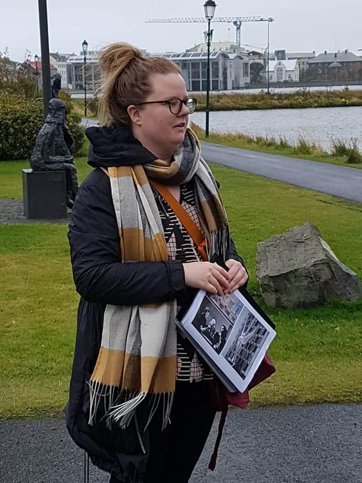 Nína Sæmundsson and women in the arts