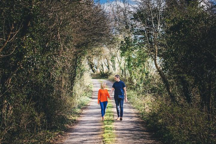 country laneway around the Burren